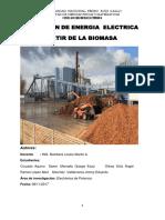 Generacion de Eenergia Electrica Apartir de La Biomasa