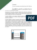 Principio de Pascal o Ley de Pascal