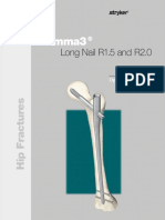 Gamma3 Long Nail r15 and r20 Operative Technique