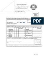 Medical Form_ Learner License