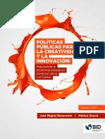 Politicas Publicas Para La Creatividad y La Innovacion