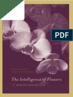 Maeterlinck the Intelligence of Flowers
