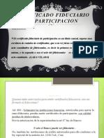 Certificado Fiduciario de Participación en El Salvador