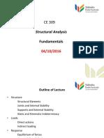 CE309 Fundamentals