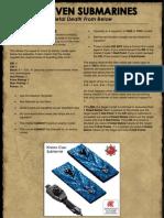 Dwarf Subs Final Rules