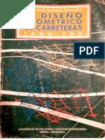 Diseño Geométrico de Carreteras -ToMO 1 Pedro J Andueza