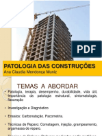 Aula 01 - Introdução a Patologia