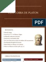 Vida y Obra de Platon