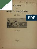 Boletin Del Museo Nacional 1917