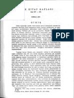 Türk Kitap Kapları Asır XV-XX