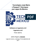 Softwares Utilizados a Lo Largo de La Carrera en Ingeniería Civil