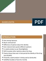 Kankushta ( One of the Uparasas in Rasashastra)