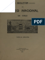 Boletin Del Museo Nacional 1920
