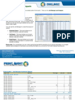Print Audit 6 Sample Reports