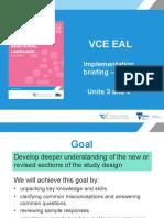 EAL Implementation Workshop V3