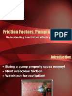 Friction Factors, Pumping and You