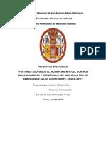 Yla Jenifer Factores Asociados Al Incumplimiento Del Control Del Crecimiento y Desarrollo Del Nião en La Red de Servicios de Salud Cusco Norte Cusco-2017â1