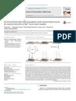 Un Sensor Quimiosistivo de Óxido de Grafeno Electroquímicamente Reducido