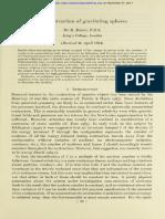 The Contraction of Gravitating Spheres - Bondi