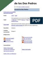 Guerra de los Dos Pedros (1356-1369)