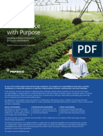 PepsiCo 2008 Sustainability Report