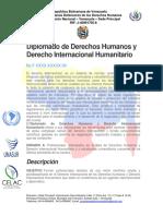 Diplomado de Los Derechos Humanos y Derechos Humanitario