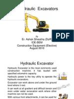 Hydraulic Excavators (Classnote-1)