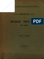 Boletin Del Museo Nacional 1911