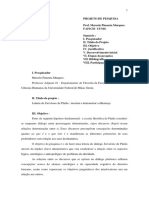Projeto Marques Cnpq 1998 2002