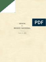 Boletin Del Museo Nacional 1912