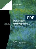 Povos Indigenas Meio Ambiente e Politica