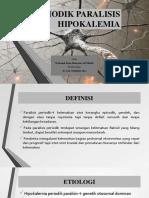 PPT Lapsus Periodik Paralisis Hipokalemia