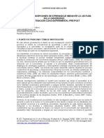 Concepciones de Aprendizaje. Experimental Argentina BONO