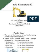 Hydraulic Excavators (Classnote-2)