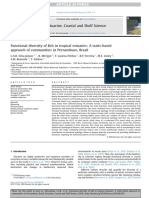 Artigo 4_Functional Diversity of Fish in Tropical Estuaries_A Traits-based Approach of Communities in Pernambuco Brazil