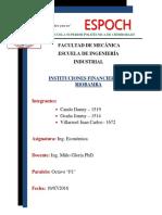 Instituciones Financieras de Riobamba
