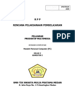 Contoh Rpp Multimedia Smk Tik Mp