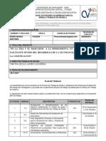 Formato Plan de Trabajo II