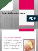 2.1-2.2. Introducción a La Historia Clínica Obstétrica y Propedéutica Obstétrica - Mc. Oscar Tafur Santivañez