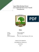 Mikrobiologi Dasar Resume Jurnal Teixobactin