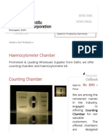Haemocytometer Chamber Wholesale Supplier From Delhi