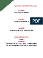 Instituto Tecnologico de Cerro Azul