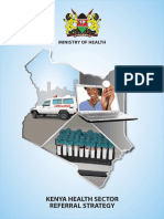 Kenya Health Sector Referal Strategy
