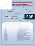 2. Collocations With Money