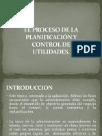 El Proceso de La Planificación y Control De