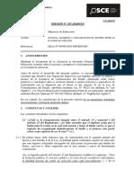 107-16 - Minedu - Ausencia-reemplazo-reincorporacion Miembro Titular Comite Selec.