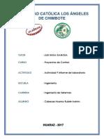 Actividad 9 Informe de Laboratorio