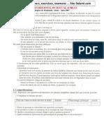 الامتحان الجهوي السنة الأولى باكالوريا جميع الشعب مادة اللغة الفرنسية 2007 جهة دكالة عبدة