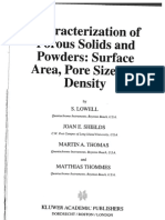 2004 - LOWEL, S - Characterization of Porous Solids