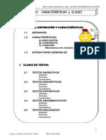 Tema 3 El Texto Coherencia y Cohesion